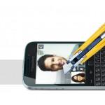 Ультратонкое износоустойчивое сколостойкое олеофобное защитное стекло-пленка для Blackberry Classic