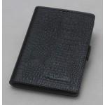 Кожаный чехол горизонтальная книжка (нат. кожа крокодила) с крепежной застежкой для Blackberry Passport