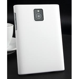 Пластиковый матовый непрозрачный чехол для Blackberry Passport