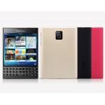 Пластиковый матовый нескользящий премиум чехол для Blackberry Passport
