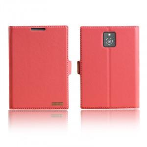 Чехол флип подставка с защелкой для Blackberry Passport