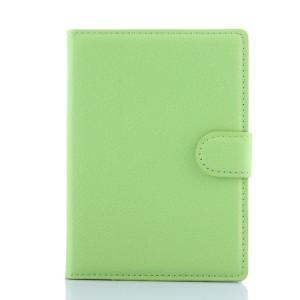 Чехол портмоне подставка с защелкой для Blackberry Passport Зеленый