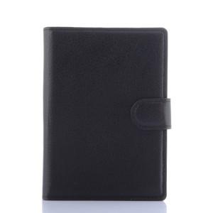 Чехол портмоне подставка с защелкой для Blackberry Passport Черный