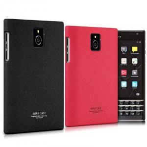 Пластиковый матовый чехол с повышенной шероховатостью для Blackberry Passport