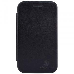 Чехол горизонтальная книжка на пластиковой основе для Blackberry Classic Черный