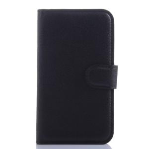 Чехол портмоне подставка с защелкой для Blackberry Classic Черный