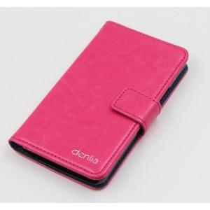 Чехол портмоне подставка с защелкой для LG Joy