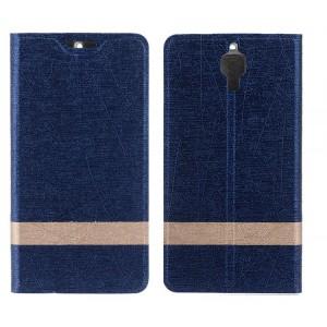 Текстурный дизайнерский чехол флип подставка на пластиковой основе для LG Spirit