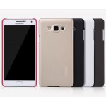 Пластиковый матовый нескользящий премиум чехол для Samsung Galaxy E7