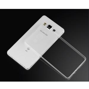 Силиконовый транспарентный чехол для Samsung Galaxy E7