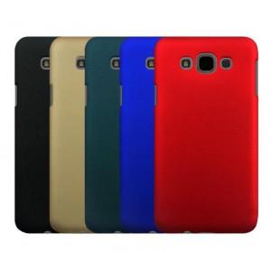 Пластиковый матовый непрозрачный чехол для Samsung Galaxy E7