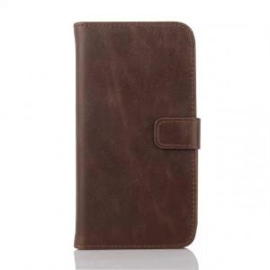 Чехол винтажный портмоне подставка с защелкой для Sony Xperia E4