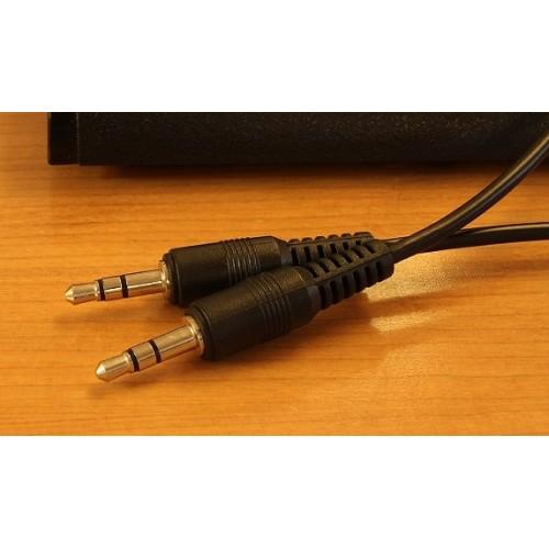 Аудиокабель AUX 3.5mm 1 м