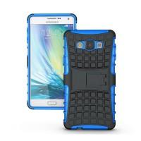Силиконовый чехол экстрим защита для Samsung Galaxy A7 Синий