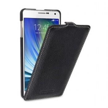 Кожаный чехол вертикальная книжка (нат. кожа) для Samsung Galaxy A7