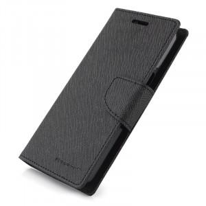 Текстурный чехол флип с застежкой на силиконовой основе для Samsung Galaxy Grand Prime