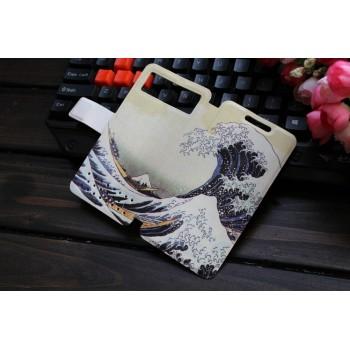 Дизайнерский чехол горизонтальная книжка с полноповерхностным принтом для Samsung Galaxy S6