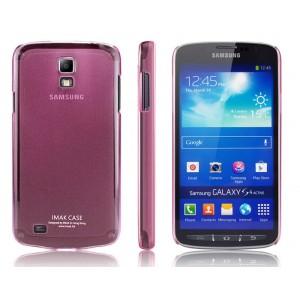 Ультратонкий пластиковый чехол для Samsung Galaxy S4 Active Красный