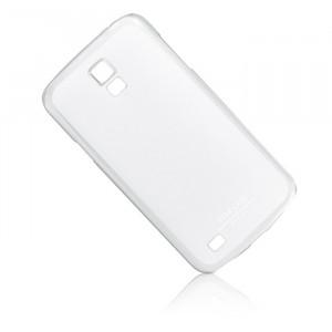 Ультратонкий пластиковый чехол для Samsung Galaxy S4 Active Белый