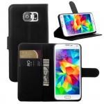 Чехол портмоне подставка с защелкой для Samsung Galaxy S6