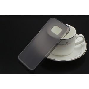 Силиконовый матовый полупрозрачный чехол для Samsung Galaxy S6