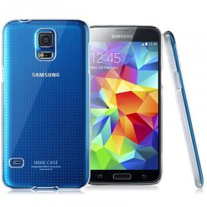 Пластиковый транспарентный чехол для Samsung Galaxy S5 Mini