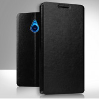 Чехол флип подставка водоотталкивающий для Microsoft Lumia 640 XL Черный