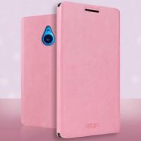 Чехол флип подставка водоотталкивающий для Microsoft Lumia 640 XL Розовый