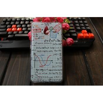 Силиконовый дизайнерский чехол с принтом для Microsoft Lumia 640 XL