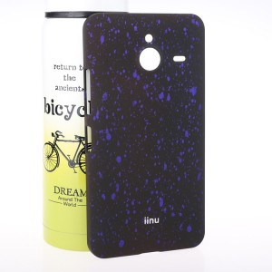 Пластиковый матовый дизайнерский чехол с голографическим принтом Звезды для Microsoft Lumia 640 XL