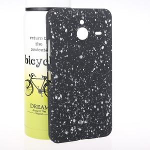 Пластиковый матовый дизайнерский чехол с голографическим принтом Звезды для Microsoft Lumia 640 XL Белый