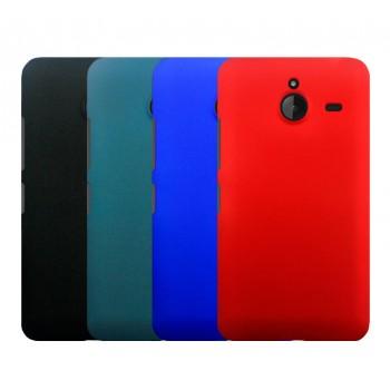 Пластиковый матовый непрозрачный чехол для Microsoft Lumia 640 XL