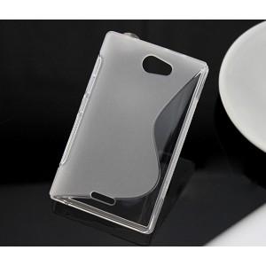 Силиконовый S чехол для Nokia Asha 502