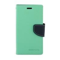 Дизайнерский чехол портмоне подставка с магнитной защелкой на силиконовой основе для Nokia Lumia 630/635 Голубой