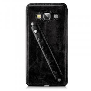 Эксклюзивный кожаный чехол оболочка с дизайнерским кистевым ремнем ручной работы для Samsung Galaxy A5