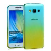 Силиконовый градиентный полупрозрачный чехол для Samsung Galaxy A5