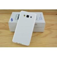 Силиконовый глянцевый непрозрачный чехол для Samsung Galaxy A5 Белый