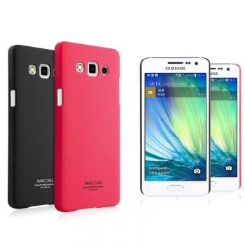 Пластиковый матовый чехол с повышенной шероховатостью для Samsung Galaxy A5