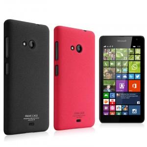 Пластиковый матовый чехол с повышенной шероховатостью для Microsoft Lumia 535