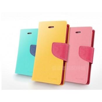 Дизайнерский чехол портмоне подставка с магнитной защелкой для Sony Xperia Z3 Compact
