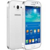 Металлический бампер для Samsung Galaxy Grand / Neo Серый