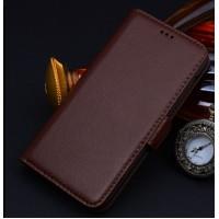 Кожаный чехол портмоне (нат. кожа) для Huawei Honor 4X