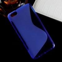 Силиконовый S чехол для Huawei Honor 4X Синий
