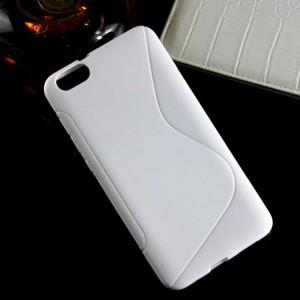 Силиконовый S чехол для Huawei Honor 4X Белый