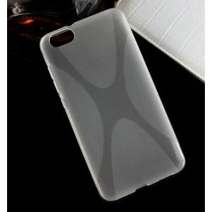 Силиконовый X чехол для Huawei Honor 4X Белый