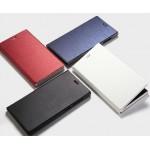 Полиуретановый чехол флип-подставка на пластиковой основе для Alcatel One Touch Idol 2S