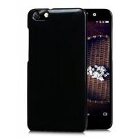 Пластиковый матовый чехол Металлик для Huawei Honor 4X Черный