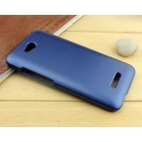 Пластиковый чехол серия Metallic для HTC Desire 616 Синий
