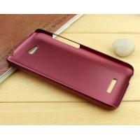 Пластиковый чехол серия Metallic для HTC Desire 616 Красный