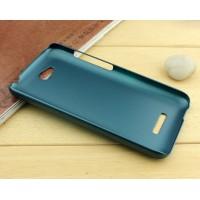 Пластиковый чехол серия Metallic для HTC Desire 616 Зеленый